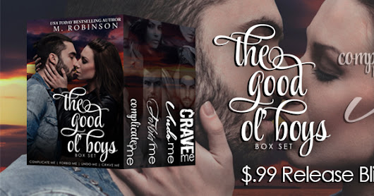 Release Blitz for the Good Ol' Boys by M. Robinson