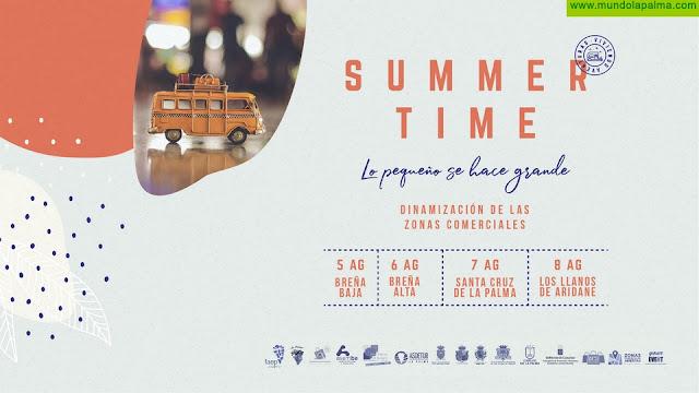 FAEP y la Consejería de Comercio del Cabildo presentan 'Summer Time', el proyecto de dinamización de las Zonas Comerciales Abiertas con el protagonismo de los caravanistas de La Palma