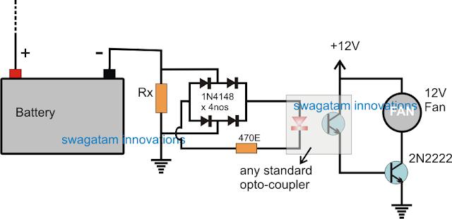 Automatic Inverter Fan Switch ON
