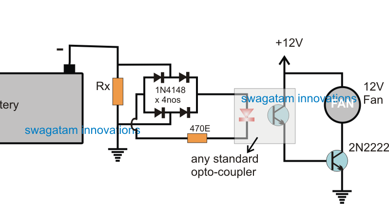 Automatic Inverter Fan Switch ON while Charging and