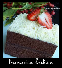 Membuat Brownies Kukus