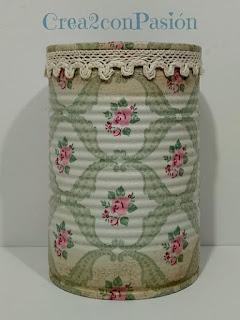 Reciclaje-latas-decopage-shabby-chic-vintage-Crea2-con-pasión-borde-superior-puntilla