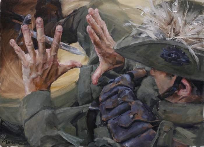 Австралийский художник. Evert Ploeg