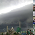 Guru, Murid SK Klias Kecil Takjub Lihat Fenomena Rolling Cloud