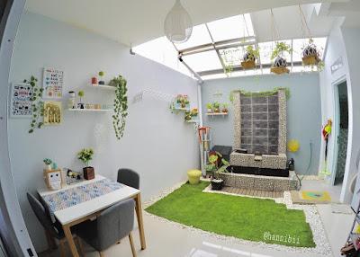 Desain Terbaru Interior Rumah Minimalis Dengan Tampilan Tanaman Terbaik 2