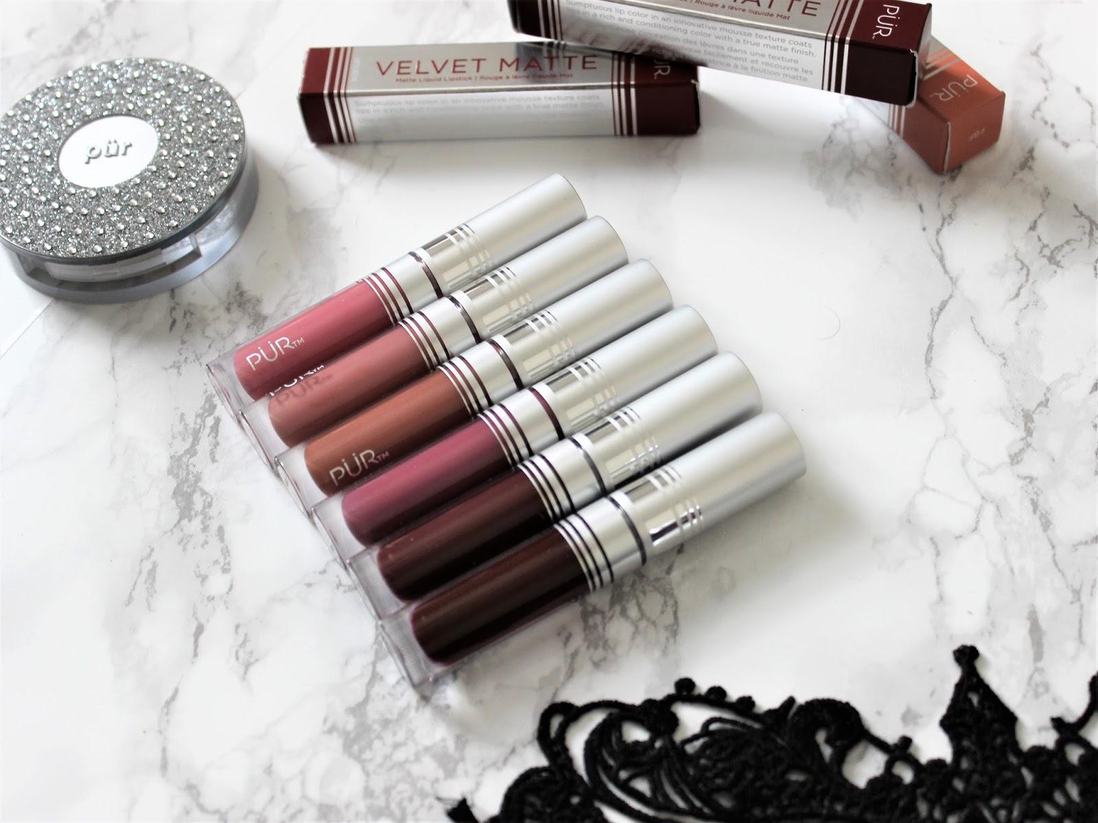 Pur Velvet Matte Liquid Lipstick Review