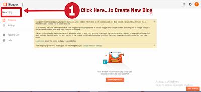 How to create free Blog in hindi, Free Blog Kaise Banaye, Hindi Capitals