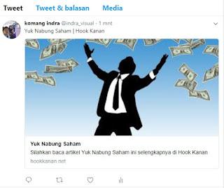 Cara mudah share Blog ke Twitter disertai Gambar dan Link