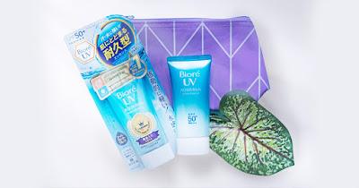 ciri - ciri Biore UV Aqua Rich Palsu