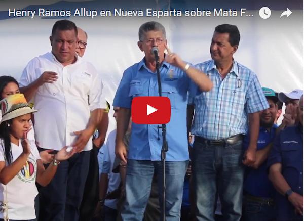 099ae5c962 Ramos Allup le da con todo a Mata Figueroa por su nueva boda