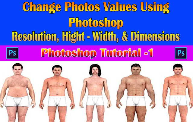 Resize Image, Crop Photos, Compress Image & Change Resolution using Photoshop