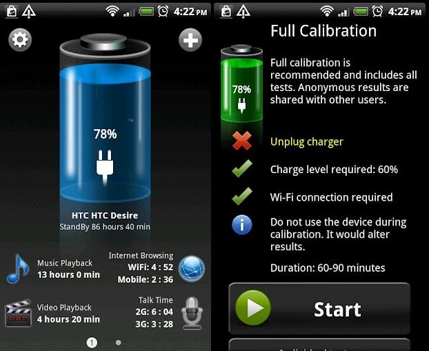 Resultado de imagen para bateria hd app