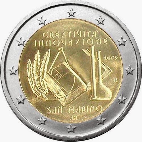 2 euro San Marino 2009, European Year of Creativity and Innovation