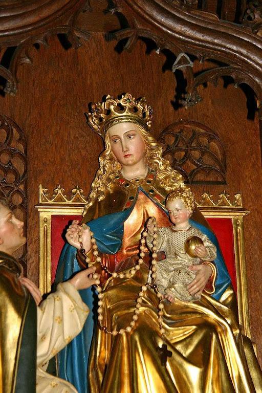Nossa Senhora dá o terço a São Domingos de Gusmão, Alemanha, Aldekerk