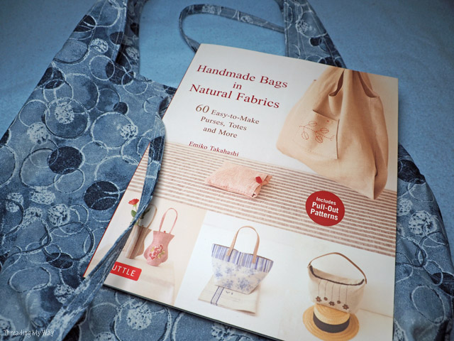 Book review ~ Handmade Bags in Natural Fabrics
