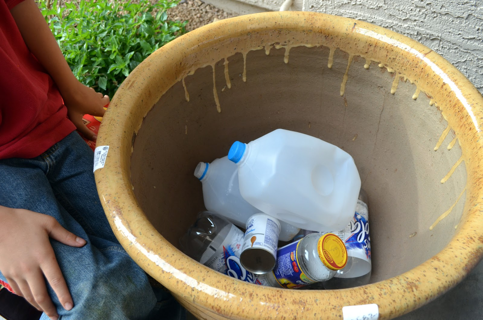 Why Adding Trash To Pots Is A Good Idea Ramblings From A