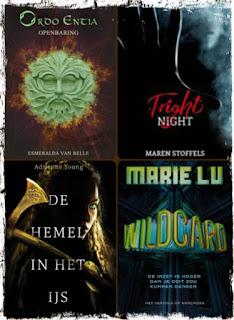 Esmeralda van Belle, Maren Stoffels, Adrienne Young, Marie Lu, Godijn, Unieboek|Het Spectrum, Leopold