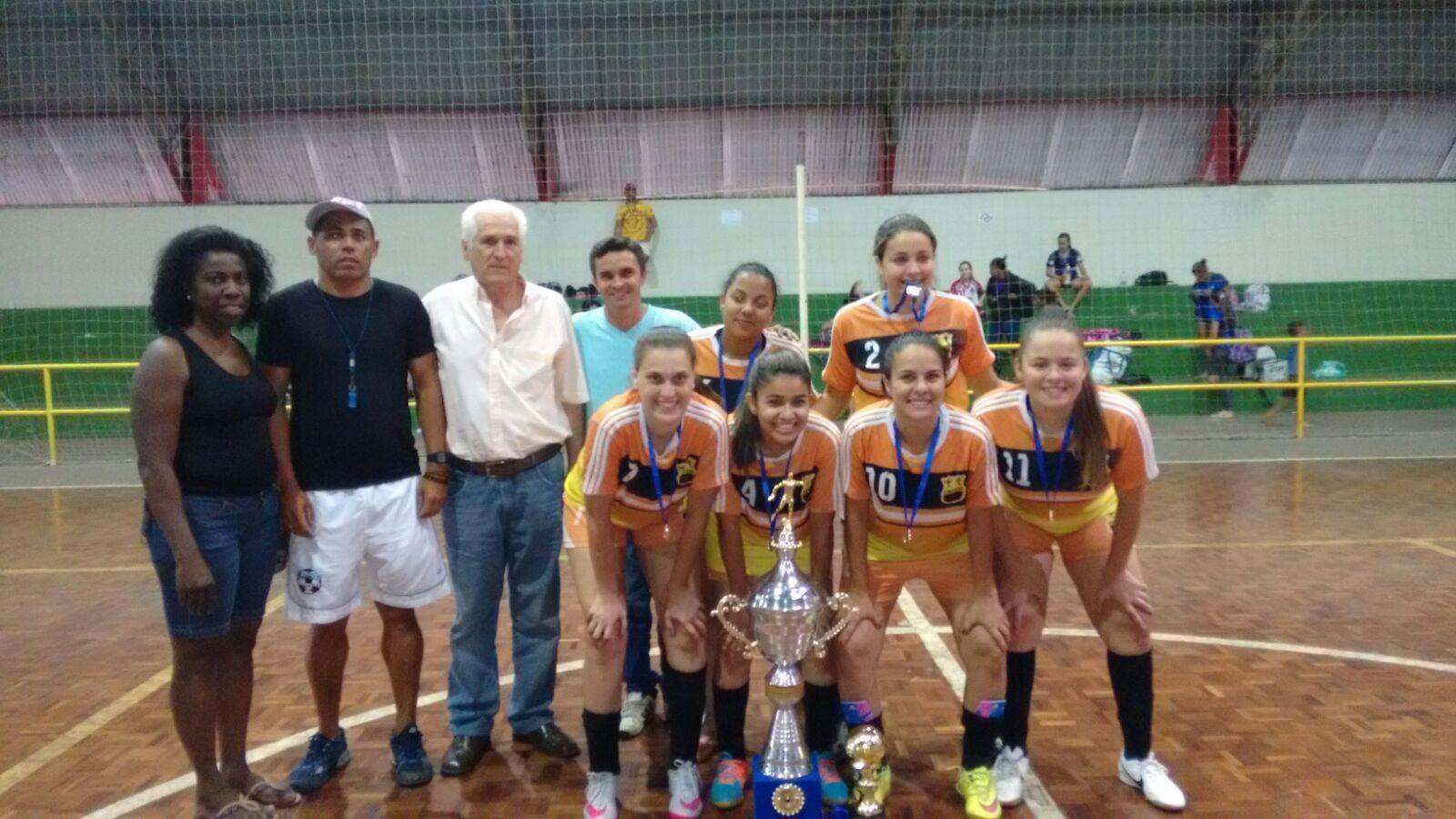 Cerquilho Futsal feminino - Vice-campeã em Rafard.  03b6625ac8b3e