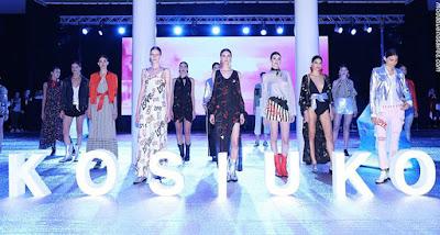 Kosiuko en Bafweek. Así presentó Kosiuko su colección primavera verano 2018 en BAFWeek. | Moda primavera verano 2018.