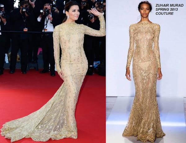 e11f67dad2f Eva Longoria in Zuhair Murad (Spring 2013 Couture) at Cannes Film Festival  Premiere