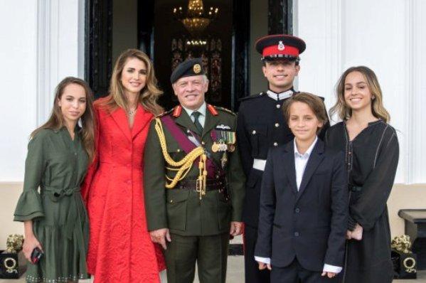 Princess Salma of Jordan turned 17