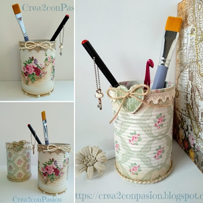 Reciclaje-latas-decopage-shabby-chic-vintage-Crea2-con-pasión