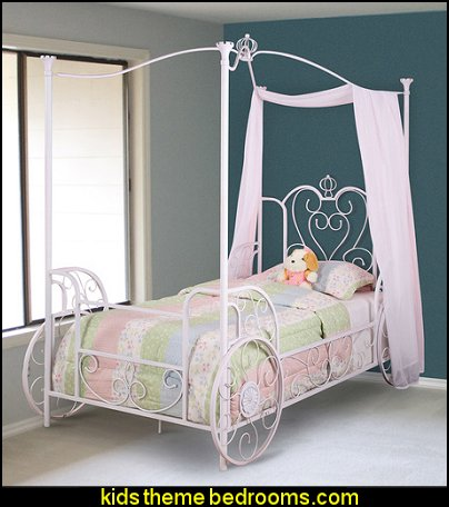 Princess Beatrix Carriage Twin Size Bed