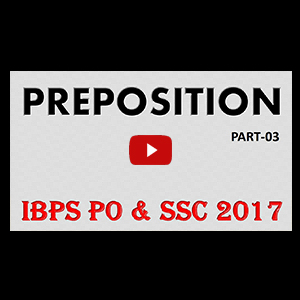 Preposition | Part 3 | Different Words With Their Appropriate Preposition | All Competitive Exams