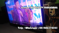 jasa service tv led Sharp LC-60LE925M