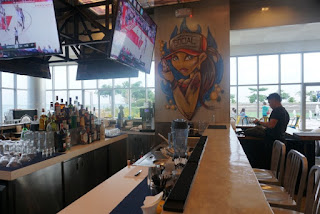 Bar area of Seaside Saloon Bar and Grill by The Social