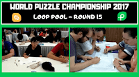 26th World Puzzle Championship 2017 | Round 15