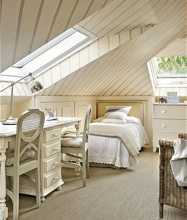 Apple pie and shabby style the attic inspirations second for Mansarde arredate