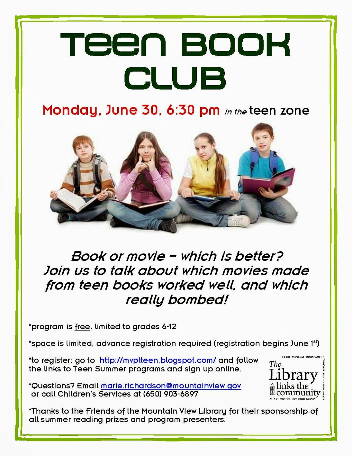 Book Club Teen 28