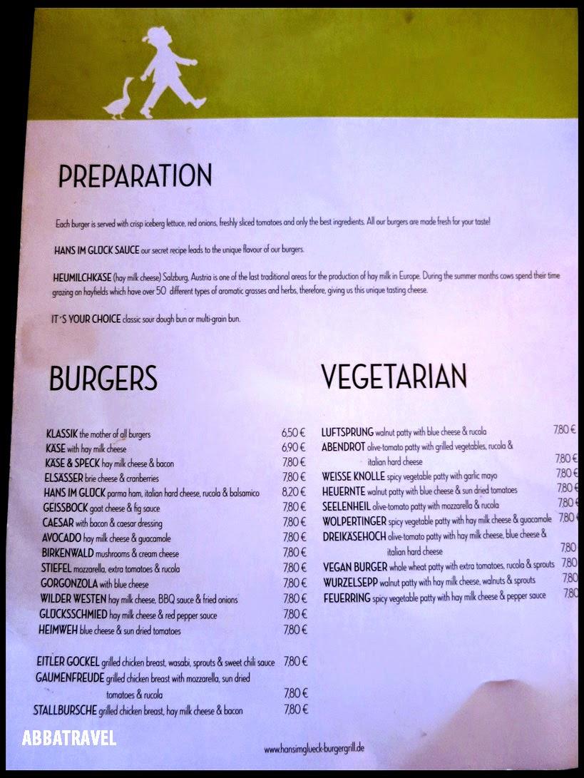 ABBATravel: Munich - To Eat (Hans Im Gluck, Pizzesco ...