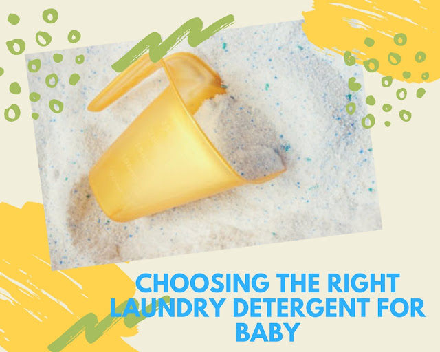 Be keen in choosing the right laundry detergent for your little ones (plus a giveaway)