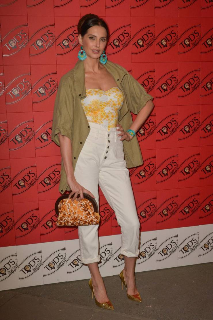 Frederique Bel At Tod's x Alber Elbaz Happy Moments Party