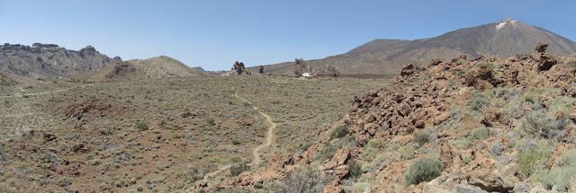 Mar a Cumbre - PR-TF-86 - Cañada Blanca - Parador Nacional del Teide - Tenerife - Islas Canarias