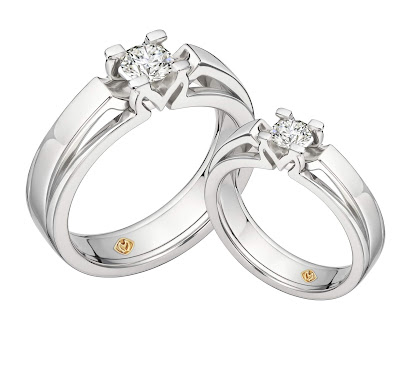 Cincin Palladium Couple | CK-02