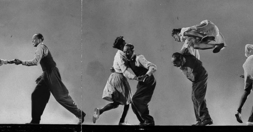 Amazing Photographs of Willa Mae Ricker and Leon James Demonstrating Steps of the Lindy Hop in 1943
