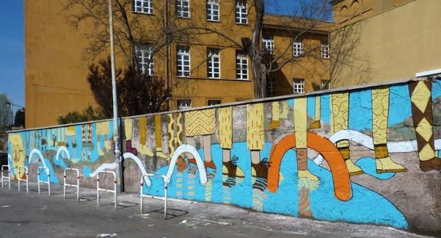 Уличный художник из Италии. Агостино Якурчи (Agostino Iacurci) 5