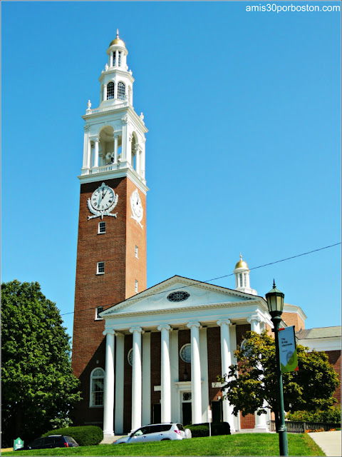Ira Allen Chapel en la Universidad de Vermont, Burlington