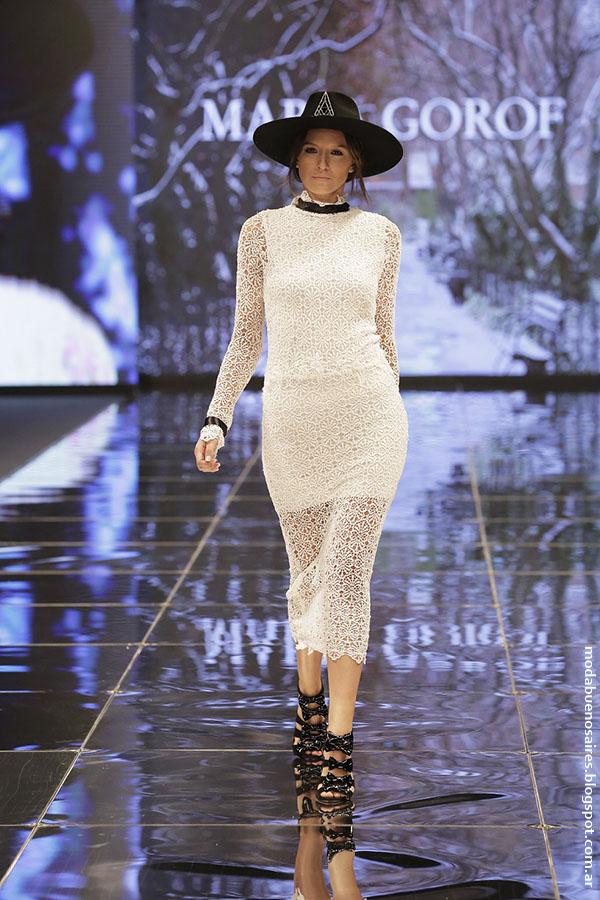 MARÍA GOROF otoño invierno 2016 (Haute Couture) para Edición Especial FUCA, Cuidarse está de Moda.