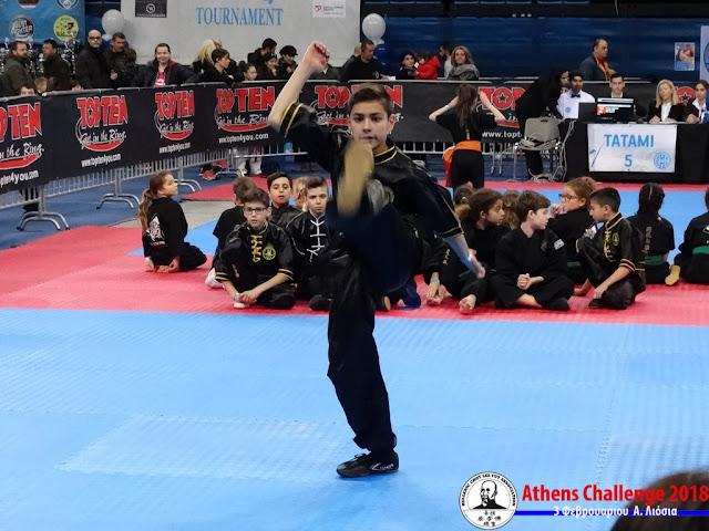 Το  Choy Lee Fut  στο Athens Challenge