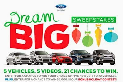 Ford Big Event Sweepstakes