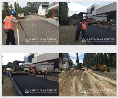 Dokumentasi Pengaspalan Karya Jaya Pertiwi 2017