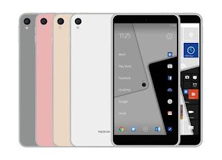 Nokia D1c Android kamera 22.5mp