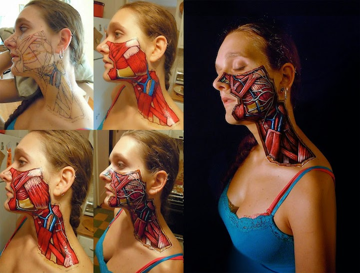 mind blowing body art