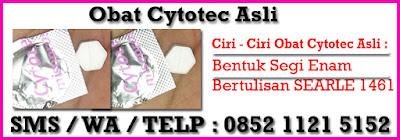 Obat Cytotec Asli