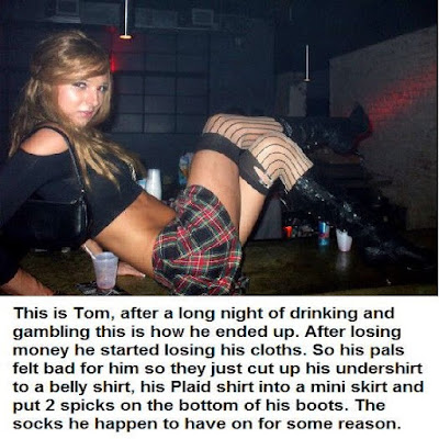Long night gambling Sissy TG Caption - World TG Captions - Crossdressing and Sissy Tales and Captioned images