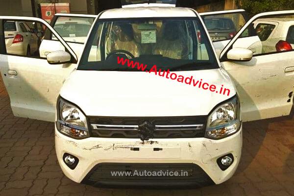 Maruti Wagon R 2019 spyshots